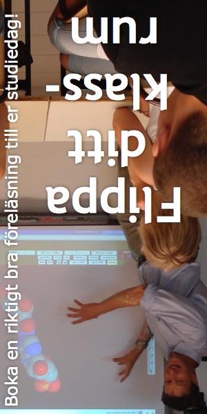 Flippa ditt klassrum ← Boka en riktigt bra föreläsning till er studiedag!