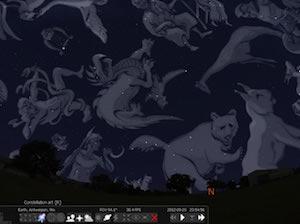 0.10 constellation art on